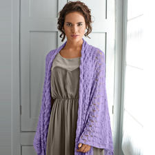 Modell 233/5, Schal aus Rialto Lace von Debbie Bliss