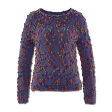 Modell 104/4, Pullover aus Piqueta von Junghans-Wolle