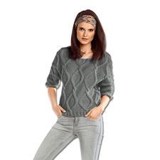 Modell 085/5, Pullover aus Novata von Junghans-Wolle