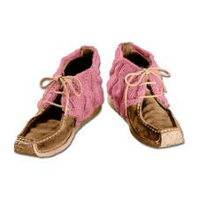 Modell 159/4, Schuhstulpen aus Landwolle