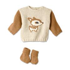 Modell 319/4, Babypullover und Schühchen aus Phil Soft+ von phildar Modell 319/4, Babypullover und Schühchen aus Phil Soft+ von phildar