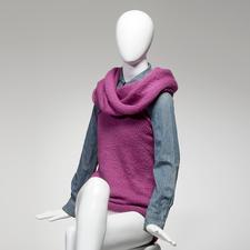 Modell 809/4, Loop-Pulli aus Novata von Junghans-Wolle