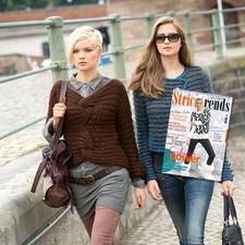 Modell 828/4, Pullover aus Prato von Junghans-Wolle