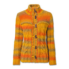 Modell 067/5, Jacke aus Colorida von Junghans-Wolle