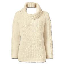 Modell 241/6, Pullover mit Loop, 2-fädig aus Peru von Junghans-Wolle