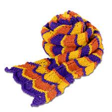 Modell 049/5, Schal aus Clou von Junghans-Wolle