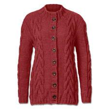 Modell 011/5, Jacke aus Clou von Junghans-Wolle