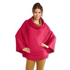 Anleitung 037/5, Cape-Pullover aus Peru von Junghans-Wolle