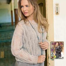 Modell 075/5, Pullover aus Aerea von Junghans-Wolle