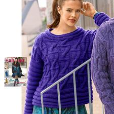 Modell 048/5, Pulli aus Clou von Junghans-Wolle