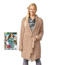 Modell 084/5, Mantel aus Novata von Junghans-Wolle