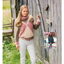 Modell 030/5, Pullover aus Ramolitto von Junghans-Wolle
