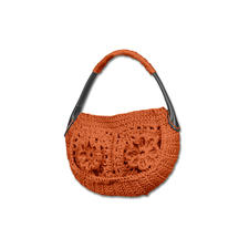 Modell 138/5, Häkeltasche aus Bandana von Junghans-Wolle