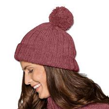 Modell 253/5, Mütze aus Merino-Extrafein von Junghans-Wolle