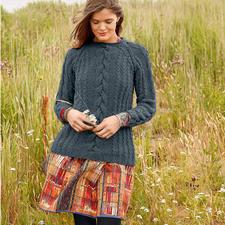 Modell 182/5, Pullover aus Bergamo von ggh, Modell aus Rebecca Heft 60
