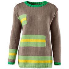 Anleitung 014/6, Pullover aus Cotonara von Junghans-Wolle