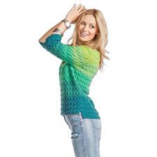 Anleitung 039/6, Pullover, 2-fädig aus Seidana® von Junghans-Wolle