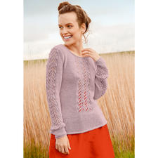 Modell 067/6, Pullover aus Lacy von ggh, Modell aus Rebecca Heft 63