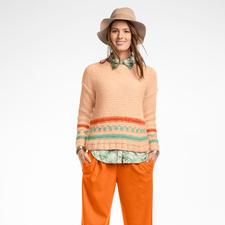 Modell 103/6, Damenpullover, 2-fädig aus Novata von Junghans-Wolle