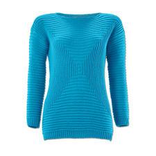 Modell 110/6, Damenpullover aus Merino-Extrafein von Junghans-Wolle