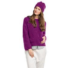 Modell 462/6, Pullover mit Mütze aus Nordland von Junghans-Wolle