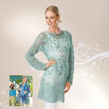 Modell 187/6, Damenkleid aus Aerea von Junghans-Wolle