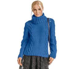 Modell 190/6, Pullover aus Clou von Junghans-Wolle