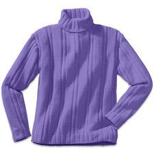 Modell 195/6, Herrenpullover aus Merino-Cotton von Junghans-Wolle