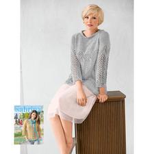 Modell 246/6, Damenpulli aus Bandana von Junghans-Wolle