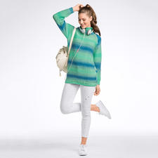 Modell 254/6, Damen-Raglanpullover aus Pinta von Junghans-Wolle