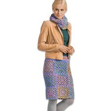 Modell 285/6, Damen Rock und Loop aus Romeo & Julia und Novata von Junghans-Wolle