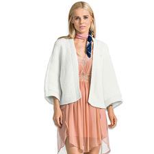 Modell 461/6, Damen-Kimonojacke aus Bandana Wool von Junghans-Wolle