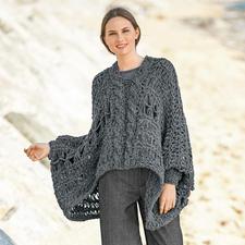 Anleitung 477/6, Pullover aus Puno von Katia