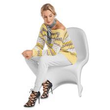 Modell 017/7, Pullover aus Cotonara, Contrato und Varese von Junghans-Wolle