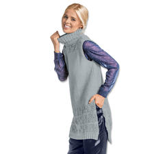 Modell 062/7, Damen-Longpullunder aus Fluffina von Junghans-Wolle