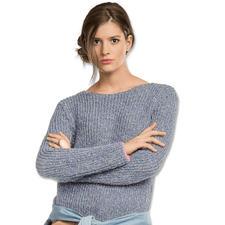 Modell 066/7, Damenpullover aus Varese von Junghans-Wolle