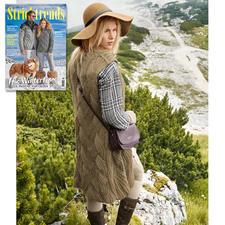 Anleitung 228/7, Damen Longweste aus Peru von Junghans-Wolle