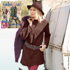Anleitung 262/7, Damen Long-Pullover aus Merino-Classic von Junghans-Wolle
