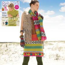 Anleitung 322/7, Rock & Loop aus Baby Alpaka von ggh, Modell aus Rebecca Heft 67