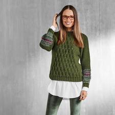 Anleitung 339/7, Damen Pullover aus Peru und Pellini von Junghans-Wolle