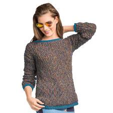 Anleitung 433/7, Pullover aus Swing und Merino-Cotton von Junghans-Wolle