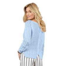 Anleitung 206/8, Pullover aus Merino-Cotton von Junghans-Wolle