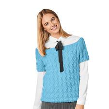 Anleitung 221/8, Pullover aus Melina von Junghans-Wolle