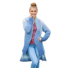 Anleitung 318/8, Mantel aus Cloud von Woolly Hugs