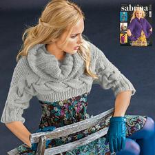 Modell 868/5, Pullover aus Clou von Junghans-Wolle