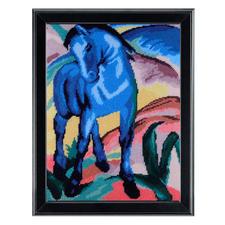 Das blaue Pferd nach Franz Marc