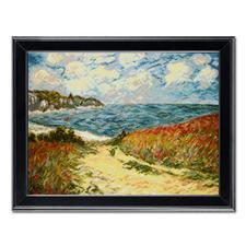 Strandweg nach Claude Monet