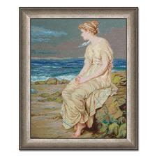 Gobelinbild - Der Sturm von Shakespeare nach John William Waterhouse Meisterwerke großer Künstler als Gobelinbild.