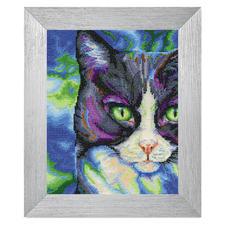 """Stickbild """"Snowshoe-Katze"""" Tierisch gut – Alles rund um die Katze."""