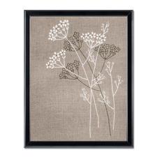 """Stickbilder im Leinenlook """"Blütenzauber"""" Natürlich Leben"""